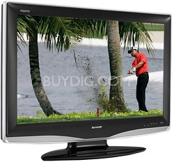 "LC-37D43U - AQUOS 37"" High-definition LCD TV"