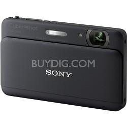 "Cyber-shot DSC-TX55 Black Slim Digital Camera w/ 3.3"" OLED Touchscreen"