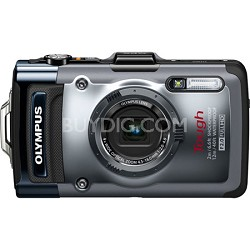 TG-1iHS 12 MP Waterproof Digital Camera 4x Optical Zoom Factory Refurbished