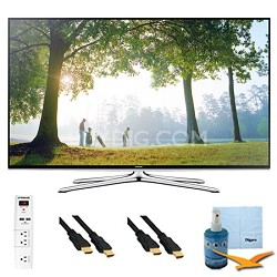 "55"" 1080p Smart HDTV Clear Motion 240 w/ Wi-Fi Plus Hook-Up Bundle - UN55H6350"