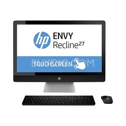 "ENVY Recline TouchSmart 27"" 27-k150 All-In-One PC - Intel Core i5-4570T Proc."