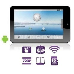"""7"""" Touch Screen Tablet with Android 2.1"""
