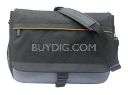 "Messenger Notebook Case -for notebook up to 15.4""-Black, Cool Gray(41N5677)"