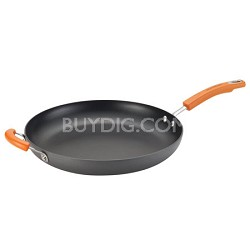 Cucina Hard-Anodized Nonstick 14-Inch Skillet with Helper Handle