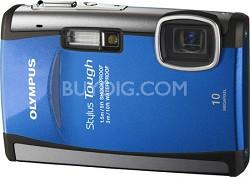 "Stylus Tough 6000 10MP 2.7"" LCD Digital Camera (Blue) - REFURBISHED"