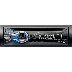 In-Dash CD Receiver Built-In Bluetooth and Dual USB Ports
