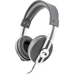 NK2030 Over the Ear Retro Stereo Headphone - Gray - OPEN BOX