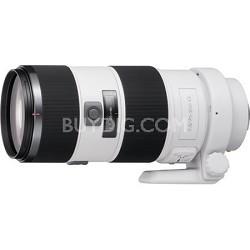 SAL70200G - G Series 70-200mm f/2.8 G Telephoto Zoom Lens for Sony Alpha DSLR's