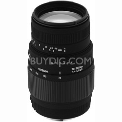 70-300mm f/4-5.6 DG Macro Telephoto Zoom Lens for Minolta and Sony SLR Cameras