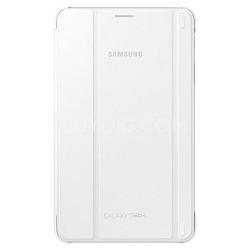 Book Cover Case for Samsung Galaxy Tab 4 8.0 - White EF-BT330WWEGUJ
