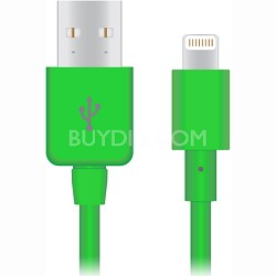 Apple Certified Lightning 8-Pin Charge and Sync Cable (Green) - 12420