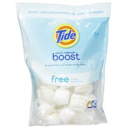 Boost Stain Release - No Dyes, No Perfumes 34 Count/26.4 oz.
