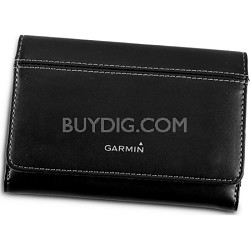 "Premium 5"" Leather Carry Case"