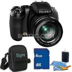 FinePix HS20 16 MP Digital Camera with EXR BSI CMOS Sensor 4GB Bundle