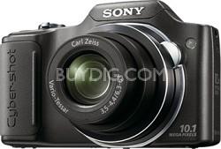 "Cyber-shot DSC-H20/B 10.1 MP Digital Camera w/ 3.0"" LCD (Black)"