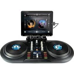 iDJ Live DJ software controller for iPad, iPhone or iPod