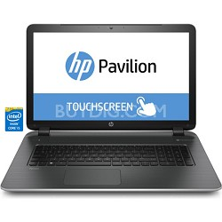 "Pavilion TouchSmart 17-f040us 17.3"" HD Notebook PC - Intel Core i5-4210U Proc."