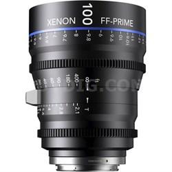100MM Xenon Full Frame 4K Prime XN 2.1 / 100 Feet Lens for Nikon F Mounts