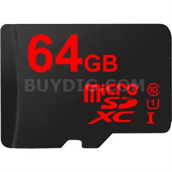 64GB MicroSDXC High-Speed Memory Card