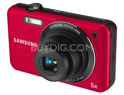 SL605 Durable Anti-Scratch Digital Camera (Red)