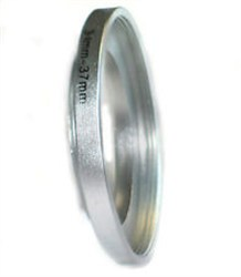 34mm - 37mm Step Up Ring (Silver)