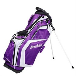 Hot Launch Stand Bag Purple Wh