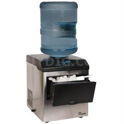 Large Ice Maker in Stainless Steel - IM-15SS