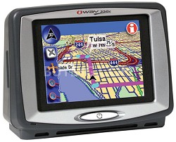iWAY 350C Portable GPS navigation w/ MP3