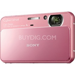 Cyber-shot DSC-T110 16.1MP Pink Touchscreen Digital Camera - OPEN BOX