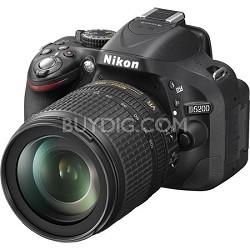 D5200 DX-Format Digital SLR Kit with 18-105mm DX VR Lens