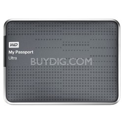 My Passport Ultra 1 TB USB 3.0 Portable HD - WDBZFP0010BTT (Titanium) - OPEN BOX