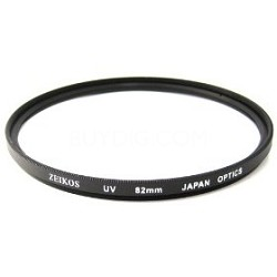 ZE-UV82 82mm Multicoated Camera Lens Sky and UV Protective Filter