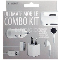 Ultimate Mobile Combo Kit - White