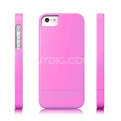 Protective Slider Case for iPhone 5 Pink