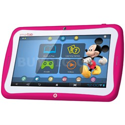 "Smart Tab 7"" Tablet Disney Content Dual Core - Pink - OPEN BOX"
