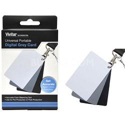 Digital Grey Card Set for White Balance
