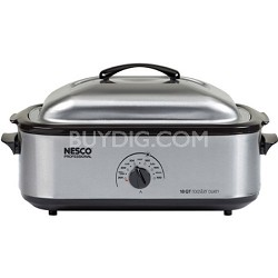 18 Qt Roaster Stainless Steel Non-stick (4818-25-30PR)