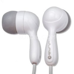 Hi-Fi Noise-Reducing Ear Buds (White) 812887011020