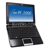 "Eee PC 1000H 10"" Netbook Intel Atom, XP Home, 6 Cell Battery Fine Ebony"