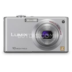 DMC-FX37S - Stylish Compact 10 Megapixel Digital Camera (Silver)
