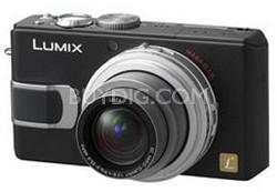 DMC-LX1K (Black) 8.4 MP Digital Camera with 4x Optical Zoom - REFURBISHED
