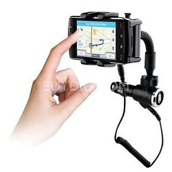 N4000 Universal Mount and Charger Includes Micro, Mini and iPhone USB Adaptors