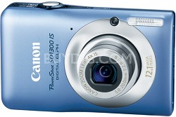 "PowerShot SD1300 IS 12MP Digital ELPH Camera with 4X Zoom, 2.7"" LCD  (Blue)"