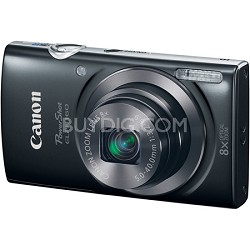 PowerShot ELPH 160 20MP 8x Opt Zoom HD Digital Camera - Black
