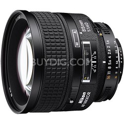 85mm f/1.4D IF AF Telephoto Nikkor Lens Factory Refurbished