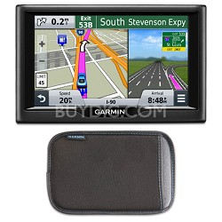 "nuvi 57 5.0""-inch Essential Series 2015 GPS Navigation System Case Bundle"