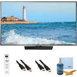 """32"""" Slim 1080p LED Smart TV 60hz Clear Motion 120 Plus Hook-Up Bundle UN32H5500"""