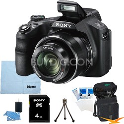 Cyber-shot DSC-HX200V 18.2 MP Exmor R CMOS Camera with 30x Optical Bundle