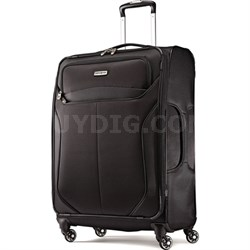 "LIFTwo 25"" Spinner Luggage (Black) - OPEN BOX"