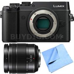 DMC-GX8KBODY LUMIX GX8 4K Interchangeable Lens Camera w/ 12-60mm Lens Bundle